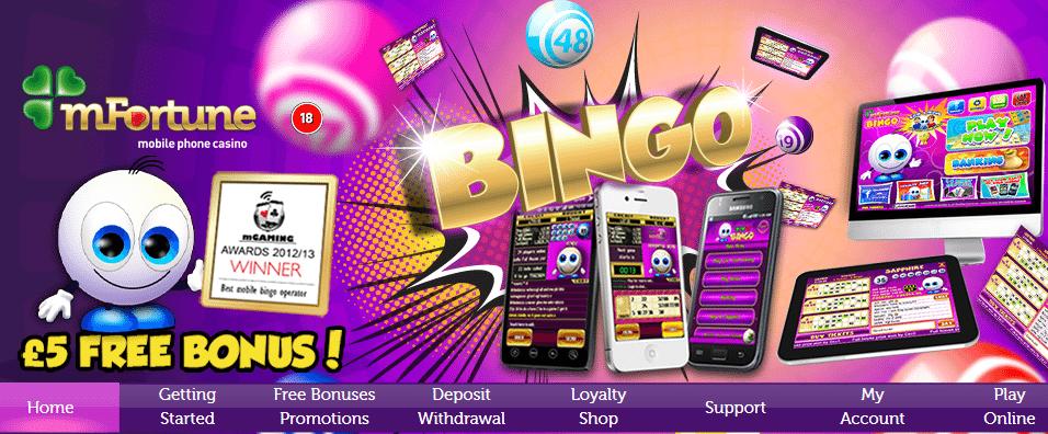pay by phone bill app for bingo free bonus sms