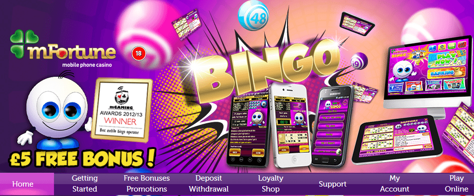 pay by phone bill app for bingo free bonus sms